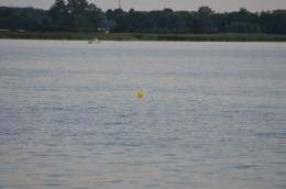 Bomba na przystani windsurfingowej